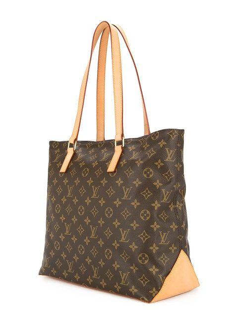4b9c9a75dba3 Louis Vuitton Vintage Cabas Mezzo Monogram Tote Bag in 2019