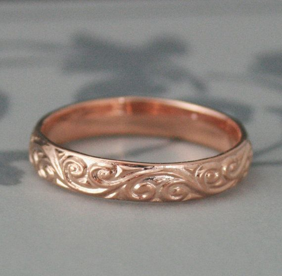 Wedding Band Above Or Below Engagement Ring Silver Bands Weddings Swirls