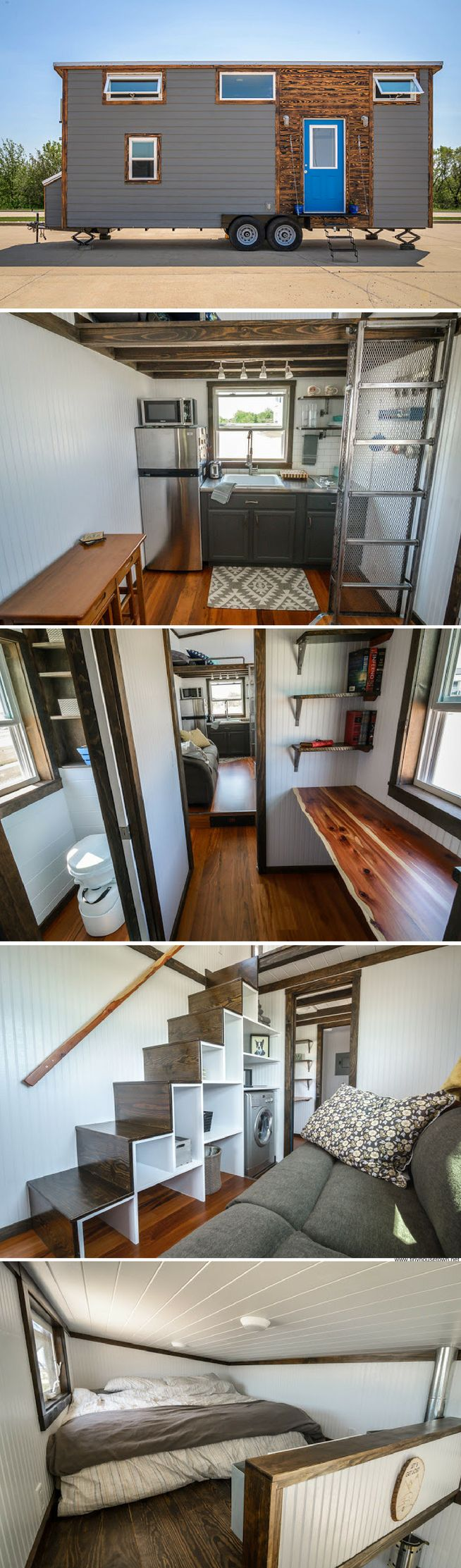The Triton from Wind River Tiny Homes (204 sq ft)