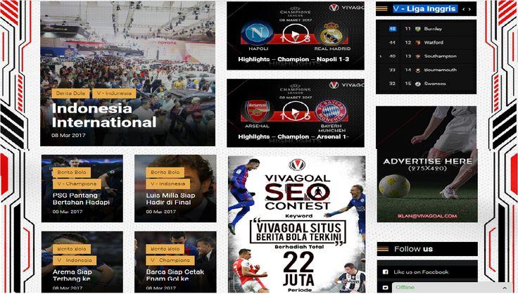 Vivagoal namanya, Sebuah situs yang sekaligus seperti forum anak muda pecinta bola Indonesia. Pemilik situs bola online ini walaupun masih tergolong baru tetap informatif dan update dengan artikel gaya bahasa jurnalis bolanya. Sah-sah saja jika situs ini meniru sedikit – banyak portal yangse – nice dengannya. Artikel berikut ini akan menjelaskan menu-menu apa saja yang …