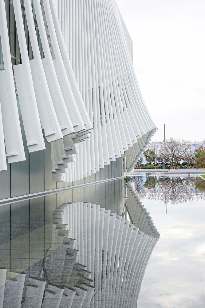 Gallery Of Xiangcheng District Planning Exhibition Hall Lacime Architects 27 Facade Architecture Architecture Facade Design