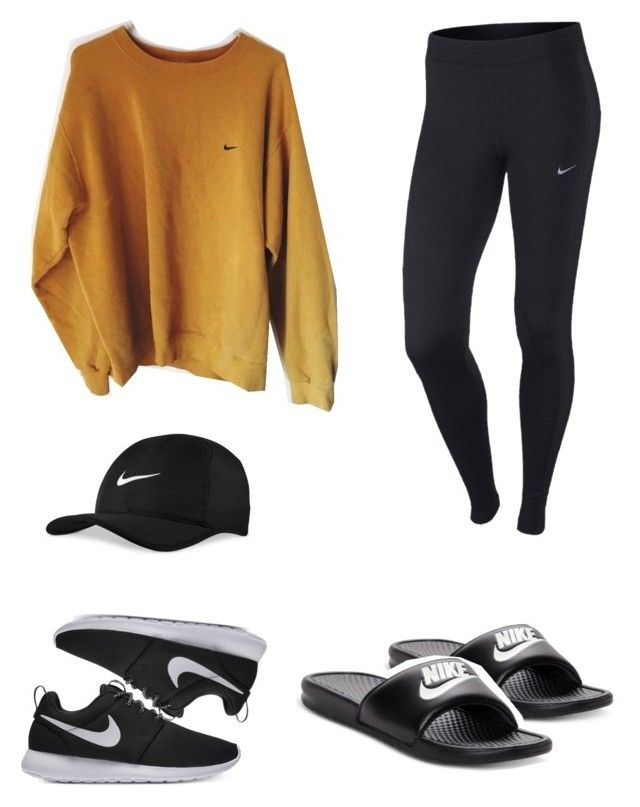 """""""Untitled #101"""" by idunntknow on Polyvore featuring NIKE"""