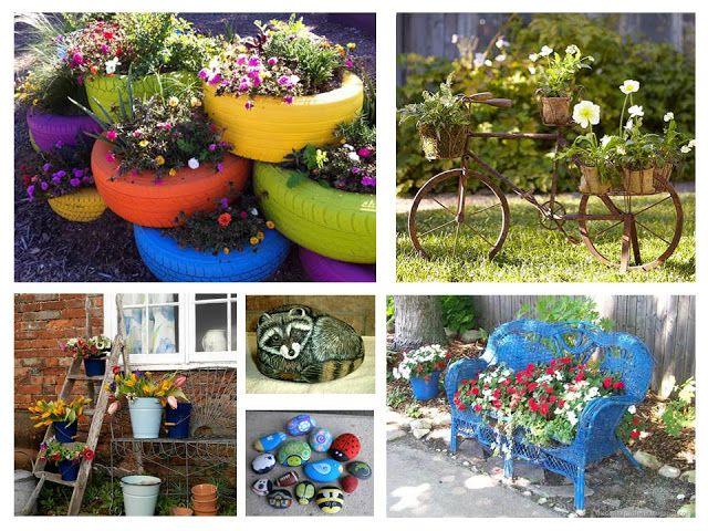 Paisajismo pueblos y jardines ideas creativas de objetos - Plantas para jardines pequenos ...