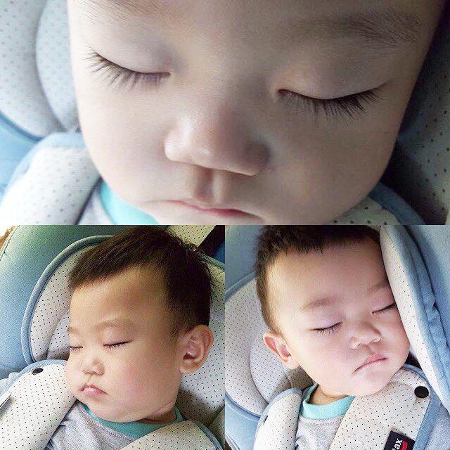 Little angel (from Sujin eomma's instagram) #leedonggook#dongguk#leejaesi#jaesi#leejaeah#jaeah#leeseolah#seolah#leesooah#sooah#leeseeahn#daebak#baby#returnofsuperman#thereturnofsuperman#슈퍼맨이돌아왔다#supermanisback#korea#kbs#kbsworld#5siblings#quintets#twins#leequintets#leefamily