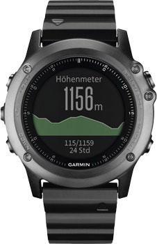 Garmin Умные часы Garmin 010-01338-21. Коллекция Fenix 3  — 50190 руб. —  Fenix 3 представляет собой прочные, функциональные и умные спортивные часы мультиспорт с GPS-приемником. Стальная антенна EXO с поддержкой спутников GPS + GLONASS для быстрого приема сигналов и точного расчета местоположения. Во время движения прибор записывает трек GPS в виде точек. Возможность отмечать различные местоположения, например, стартовую линию, контрольную точку, место стоянки, интересный объект и т.д. С…