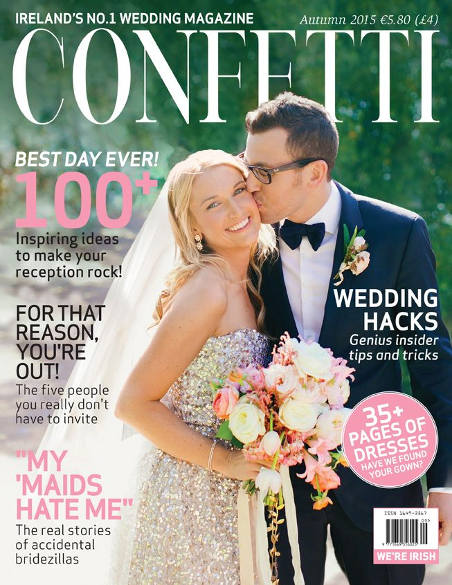 Confetti S Autumn 2017 Cover In All It Sparkly Gowned Gorgeousness We Hope