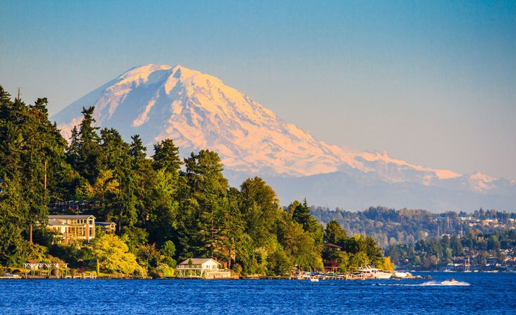 The train from Eugene, OR to Vancouver, BC offers majestic mountains, lush forests, and possible wildlife sightings.