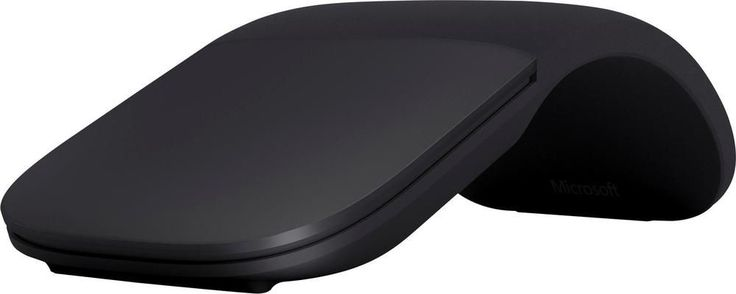 Microsoft - Microsoft Arc Mouse - Black