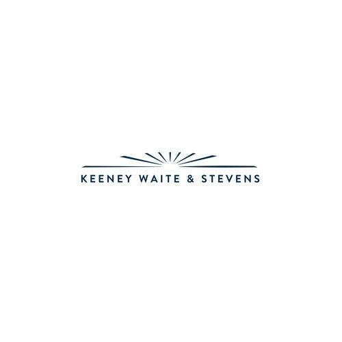 Keeney Waite & Stevens - Design simple powerful elegant Zen-like logo for small prestigious longstanding San Diego law firm We are a small San Diego, California law firm that represents sophisticated clients in complex litigation and transac...