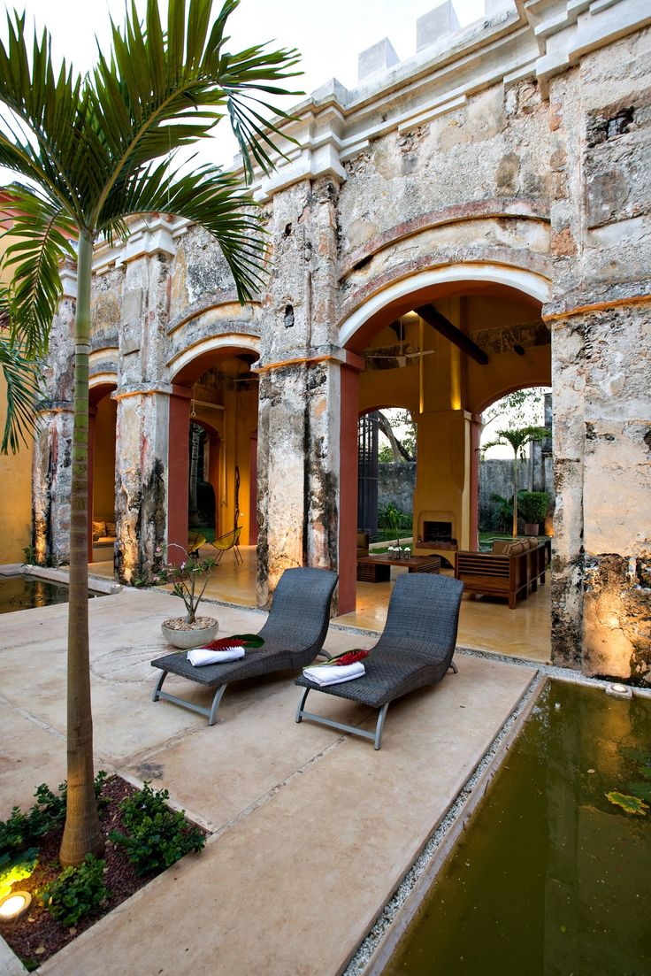 Hacienda Sac Chich - Mexico Situated in Yucatan. Villa for rent.