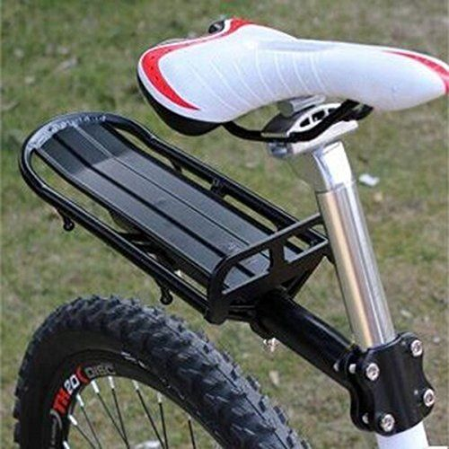 Black Extendable Bicycle Seat Post Beam Rear Rack. #Black #Extendable #Bicycle #Seat #Post #Beam #Rear #Rack