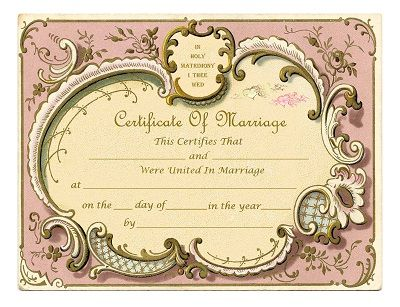 29 best marriage certificates images on pinterest weddings keepsake marriage certificates free graphics and printables trulytruly yadclub Image collections