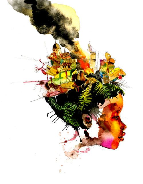 David Choe's Haitian Girl Print  David Choe has requested that all proceeds go to Yele Haiti, a foundation created by Wyclef Jean. This print measures 18″x24″ inches and is a Giclee print on archival paper. Limited to 50 editions, the print is hand-signed by David Choe.