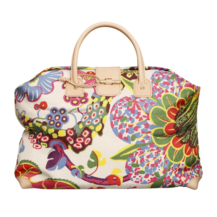 Handväska Brazil Lin via @sfgirlbybay / victoria smith ( roughly $230.00): Fashion, Weekend Bags, Handbags, Handbag Brazil, Josef Frank, Svenskt Tenn, Style Pinboard, Weekender Bags