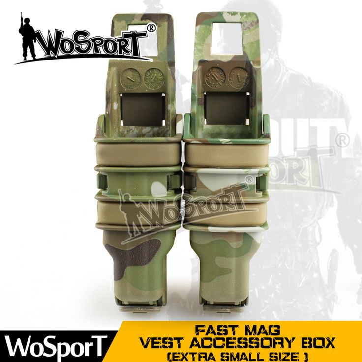 011731 FAST MAG Tactical Vest Accessory Box Pouch Outdoor extra small Size Many Colors Box for Airsoft Paintball Hunting