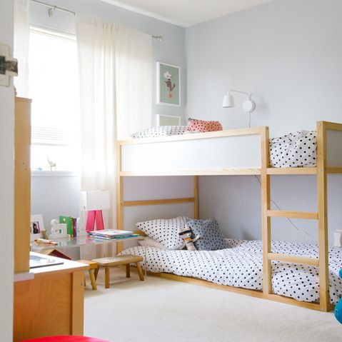 Best 20 ikea bunk bed ideas on pinterest ikea bunk beds for Double decker crib