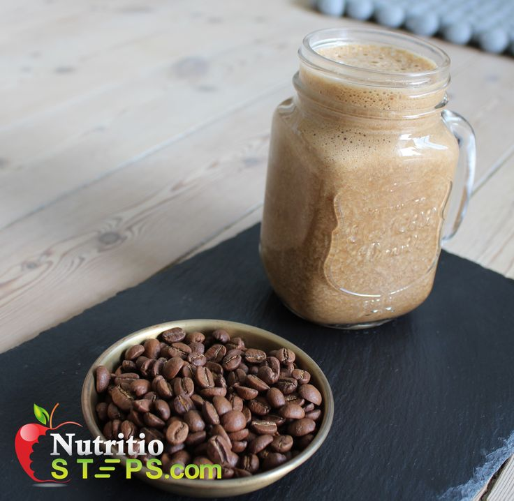 5 INGREDIENT BANANA ICED COFFEE FRAPPE
