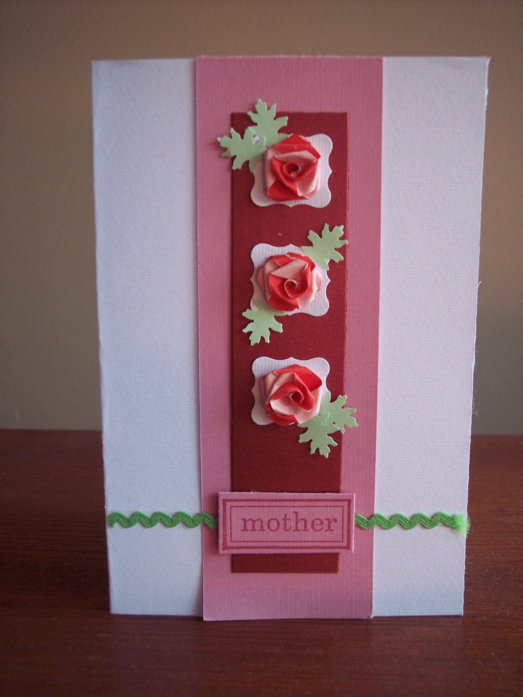 More Quilled Roses for Mother's Day