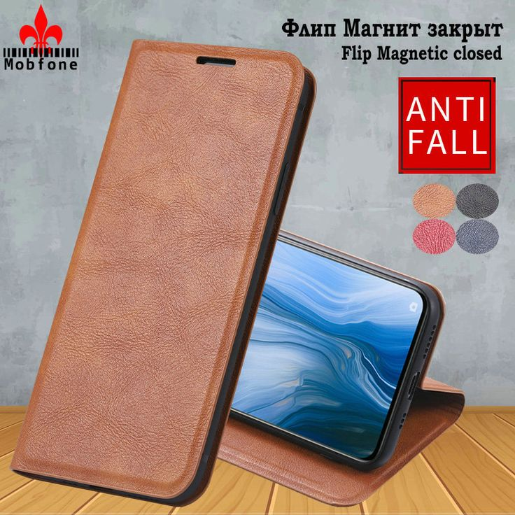 Original Mobfone For OPPO F11 A3S A3 Leather Case R17 Pro