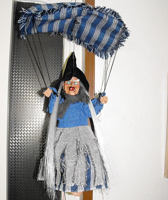 Witch from Sochi (Russia). My sister gave birthday gift to me. I took a moving video this doll, can not show.