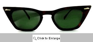 Futura Cat Eye Wayfarers Sunglasses - 131 Tortoise