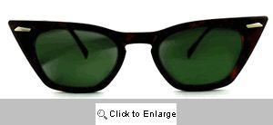 Futura Cat Eye Wayfarers Sunglasses - 131 Tortoise