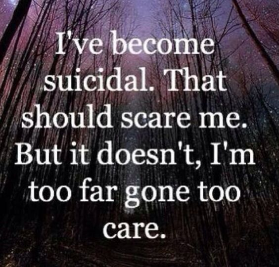 Sad Depressing Quotes Suicidal: Dont Commit Suicide Quotes. QuotesGram