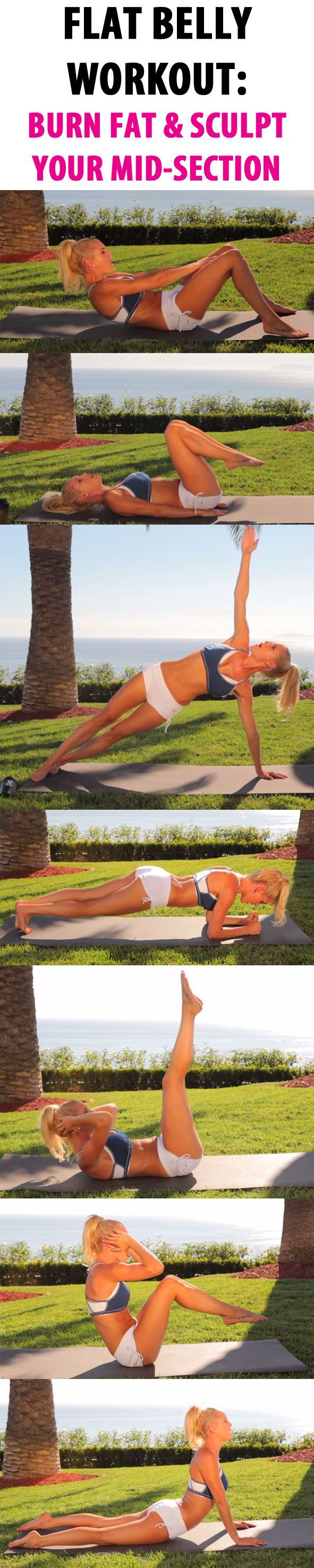 If you love working out your abs this routine is for you. For beginner and intermediate levels. You will be sore but stronger. This workout burns 205 - 282 calories. Do this routine 2-4 times a week increase reps and shorten rest time as you progress.