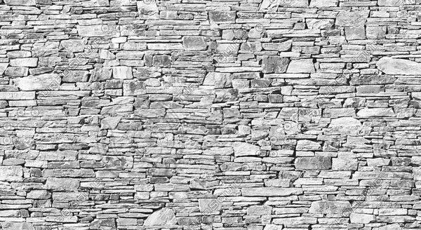 Pared de piedra seca (piedra arenisca)