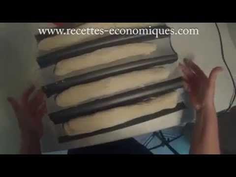 recette baguettes maison au thermomix