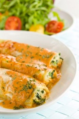 Cannelloni #fromage et #epinards