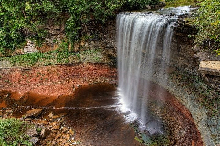 Indian Falls, Owen Sound, Ontario, Canada PART OF WATERFALL TOUR LOCALLY!