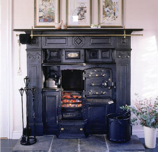 80 best Old ranges and fireplaces images on Pinterest | Vintage ...