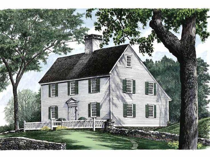 Historic new england farmhouse plans for Nl house plans