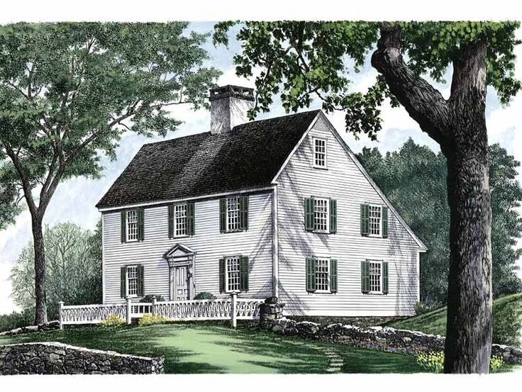 17 best images about new england colonial saltbox houses for Salt box house plans