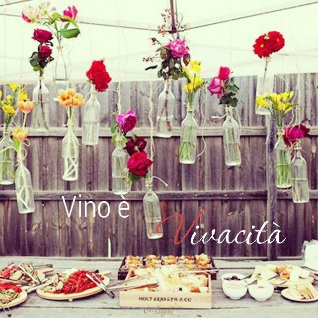 #ParoleDiVino Il vino per noi è #vivacità, allegria, condivisione e amicizia. E per voi?