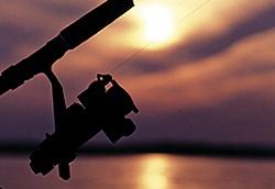 Fishing in Lake Vesijärvi