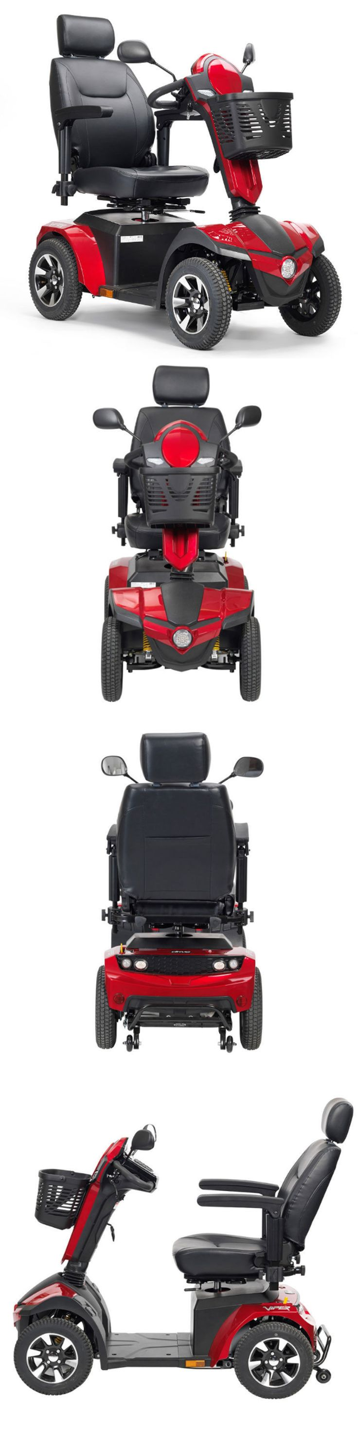 Mobility Scooters: Drive Medical Panther 4 Wheel Heavy Duty All Terrain Mobility Scooter 425Lb Cap -> BUY IT NOW ONLY: $2499.0 on eBay!