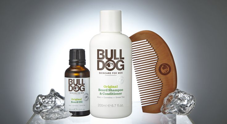 Bulldog's New Beard Care Kit contains Bulldog Original Beard Oil, formulated to soften, tame and condition your beard, and Bulldog 2 in 1 Beard Shampoo and Conditioner, formulated to cleanse your beard leaving it soft, fresh, nourished and conditioned. This gift set also includes branded beard comb. Bulldog products are purpose built for men and enriched with amazing natural ingredient
