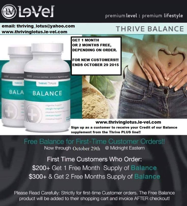 Le vel thrive coupon code