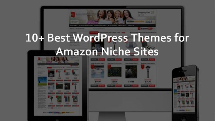 Here are the 10+ Best WordPress Themes for Amazon Niche Sites (Free and Premium). This list includes a few free themes, some premium themes, and a few others that offer free & paid versions.