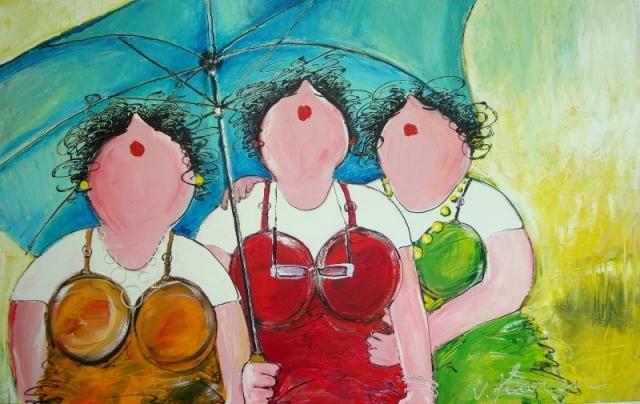 139 best images about schilderijenverzameling on pinterest for Dikke dames schilderen
