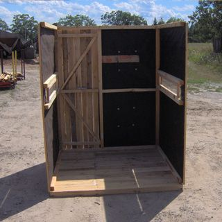 Best 25 deer blinds for sale ideas on pinterest deer for Deer ground blind plans