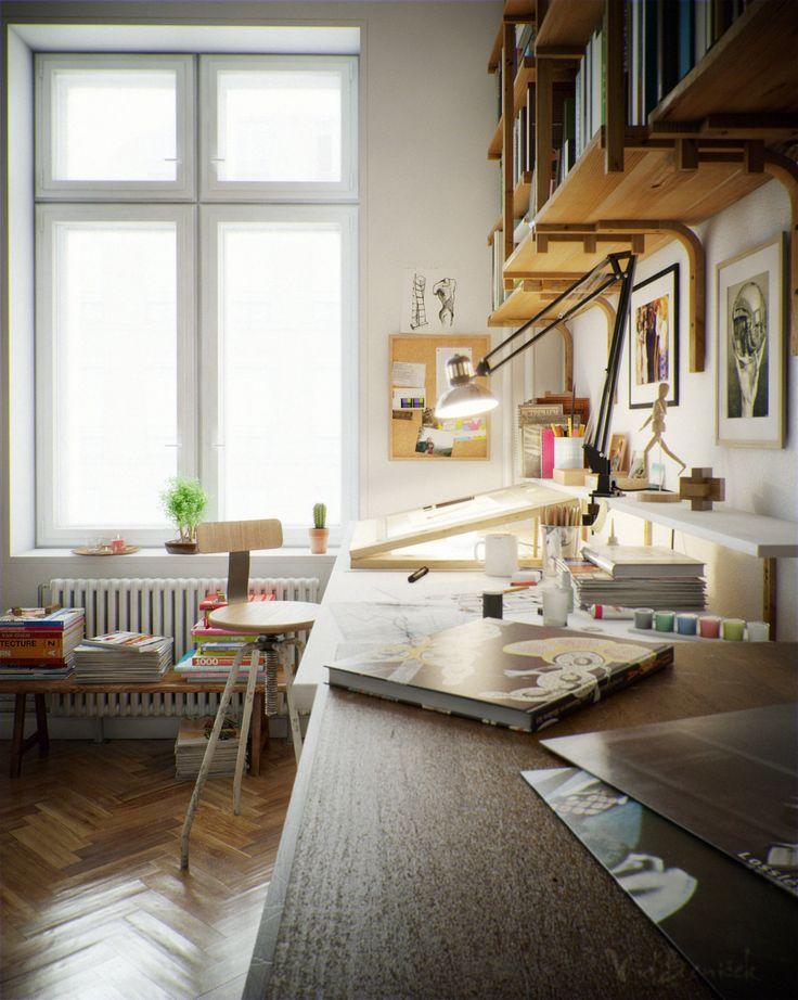 home art studio design. Best 25  Home art studios ideas on Pinterest Art desk My dream room and studio at home