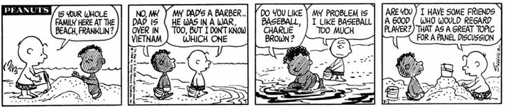 Why Charles M. Schulz Gave Peanuts A Black Character (1968) |