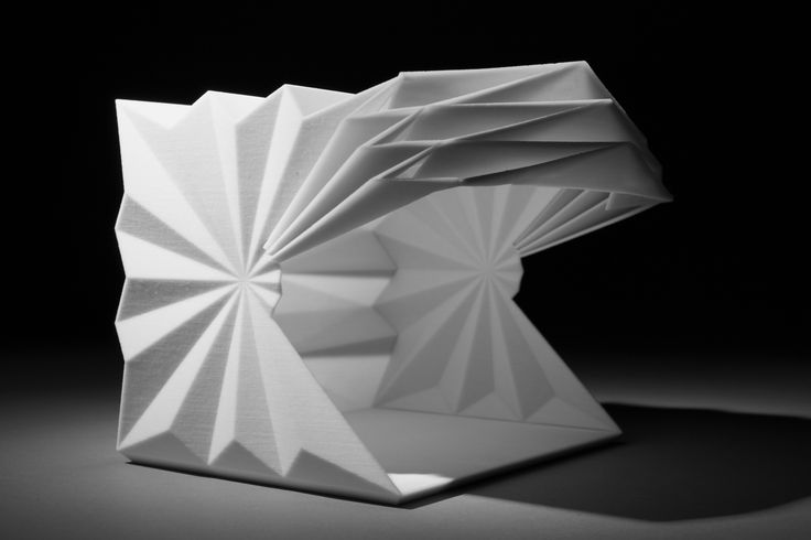 Make Reveals Origami Kiosk Proposals For North London News Architects Journal. new house design ideas. ideas for interior decoration. design homes pictures. contemporary homes interior.