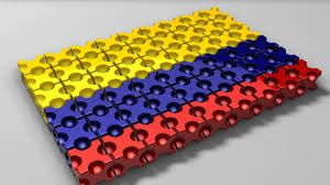 Colombia bandera Tech
