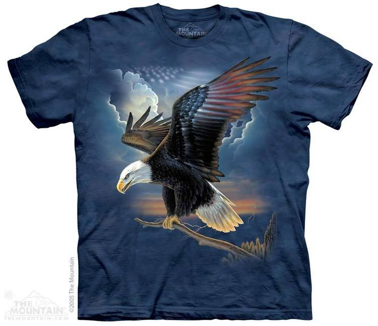 The Mountain - The Patriot T-Shirt, $20.00 (http://shop.themountain.me/the-patriot-t-shirt/)
