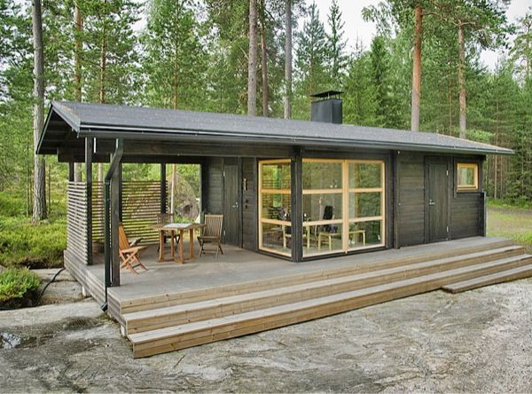 242 Sq. Ft. Tiny Modern Prefab Sun House | Tiny House Pins