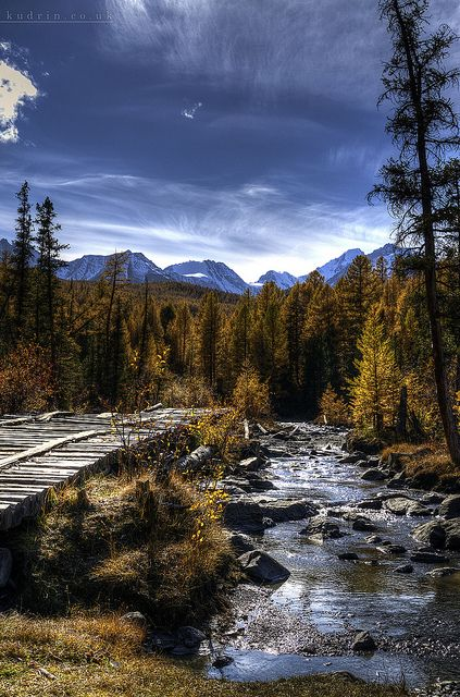 Altai Mountains in Siberia. Photo taken by Andrew Kudrin... Via.. Mike Hill